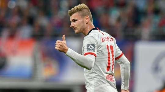 Werner plaît aux Reds. AFP