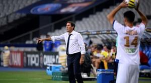 Rudi Garcia explique son choix de laisser Moussa Dembélé sur le banc. AFP