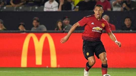 Alexis quiere dejar el United. AFP