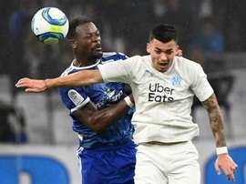 Les compos probables du match de Coupe de France entre Marseille et Strasbourg. AFP