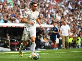 Bale se confie sur sa relation avec le Real Madrid. AFP