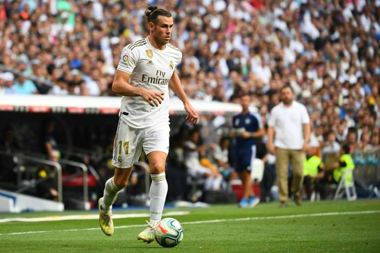 Bale está siendo uno de los mejores del Real Madrid en este arranque de temporada. AFP