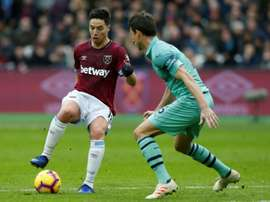 West Ham veut lui faire signer une saison de plus. AFP