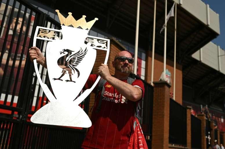 D'un sacre de Liverpool à l'autre, un Royaume-Uni pas si différent. AFP