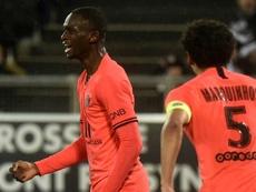 Thiago Silva à la peine, Kouassi à la rescousse du PSG. AFP