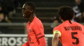 Le Barça dans la course pour Kouassi. AFP