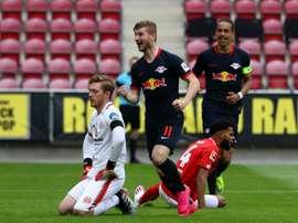 Les compos probables du match de Bundesliga entre Leipzig et le Hertha Berlin. AFP