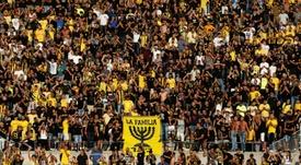 Colère de fans du Beitar Jerusalem après le recrutement d'un joueur au nom musulman. AFP