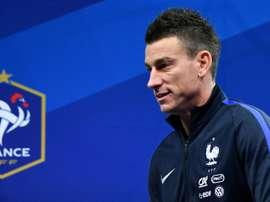 Koscielny anuncia que deixa a seleção depois do Mundial. AFP