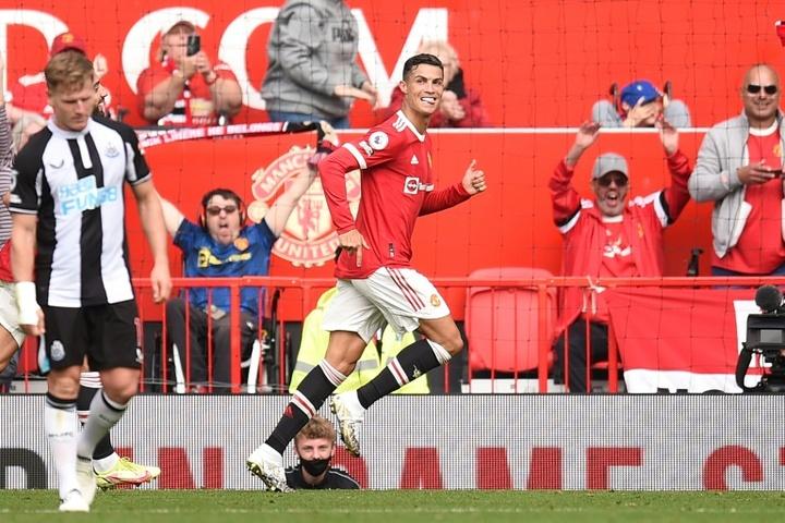 Os bônus que turbinariam o contrato de Cristiano Ronaldo no United. AFP