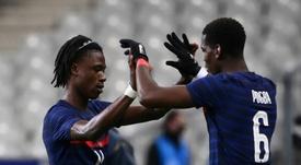 Camavinga, Pogba and Real Madrid. AFP