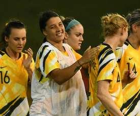 Le Mondial 2023 féminin, l'Australie et la Nouvelle-Zélande y croient. AFP