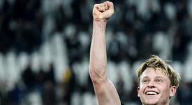 De Jong has spoken about his upcoming move to Barça. AFP