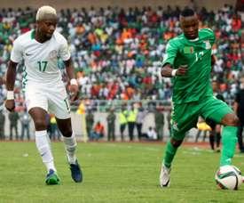 Birmingham are eyeing Nigerian international Ogenyi Onazi. AFP