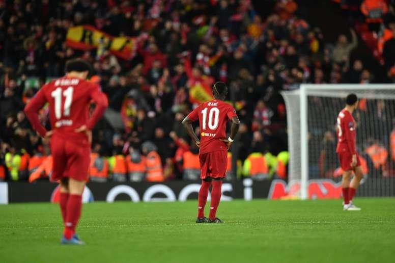 Mané doesn't feel like a champion. AFP