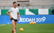 Cristiano Ronaldo au King Abdullah Sports City Stadium. AFP