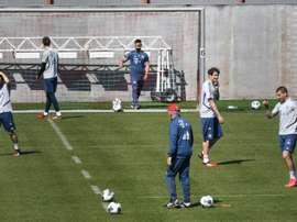 Le foot allemand devra s'habituer aux matches à huis clos. AFP