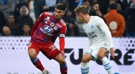 Aouar déclare forfait avec les Bleuets. AFP
