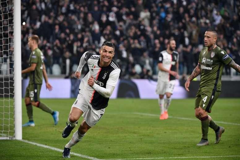 Ce Cristiano Ronaldo qui fait de nouveau peur. AFP