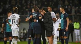 Consternation au Portugal après les cris racistes envers Marega. AFP