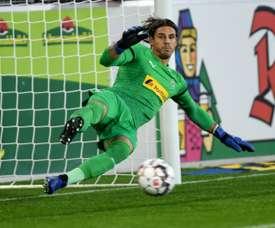 Le gardien de but de Mönchengladbach Yann Sommer lors de la défaite face à Fribourg 3-1. AFP