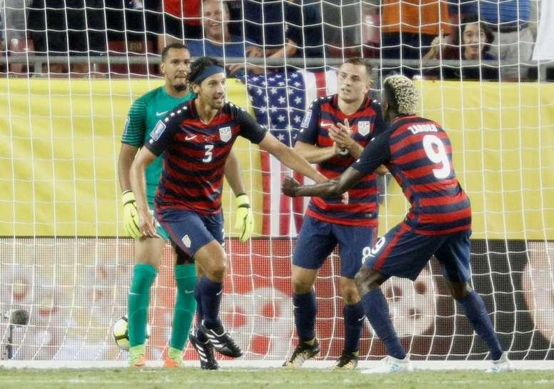 Les États-Unis portés par un doublé de Jordan Morris ont peiné devant la Martinique en Gold Cup. AFP