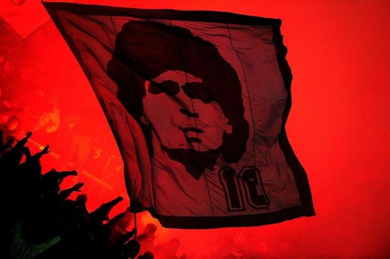 San Paolo será el Diego Armando Maradona. AFP