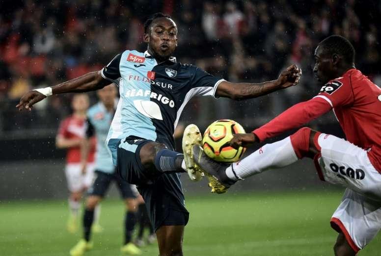 Lyon se rapproche du meilleur buteur de Ligue 2. AFP