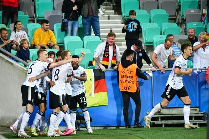 Alemania sucede a España como campeona de Europa Sub 21. AFP