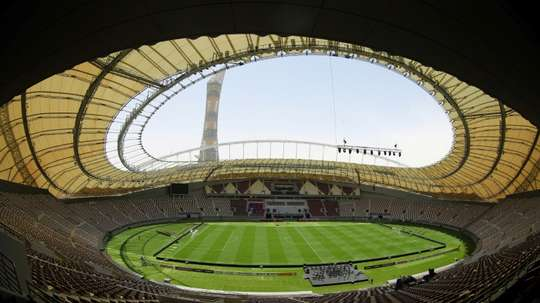 The Khalifa Stadium will hold 48,000 people. AFP