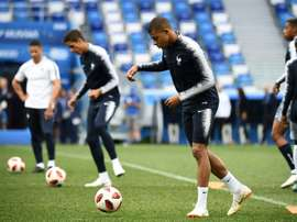 Varane ha parlato in conferenza stampa. AFP