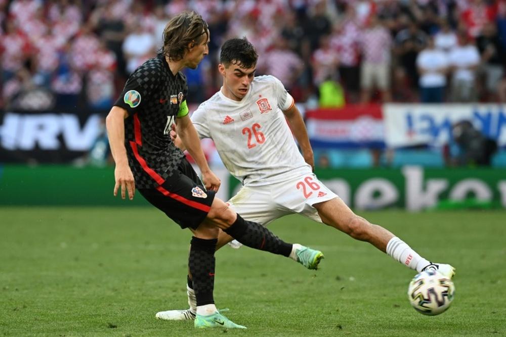 Seis futbolistas de la Euro jugaron ante Japón. AFP