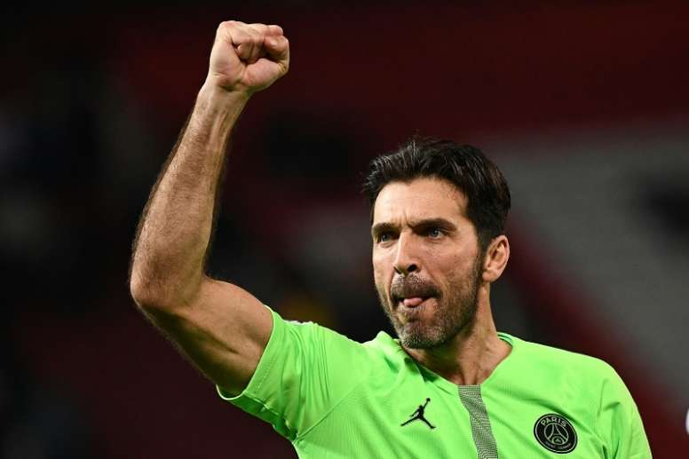 Buffon will continue at PSG until at least 2020. AFP