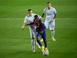 Dembélé nel mirino dello United. AFP
