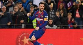 Messi prendra son temps pour prolonger. AFP