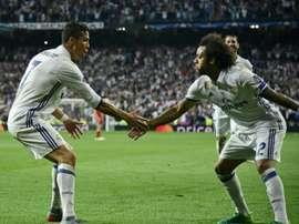 Messi ou CR7 ? Le choix compliqué de Marcelo. AFP