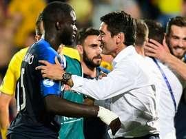 Upamecano revient sur sa saison. AFP