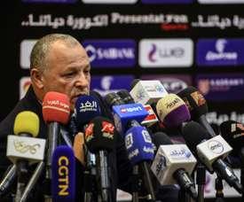 Le président de la Fédération égyptienne Hany Abou Rida. AFP