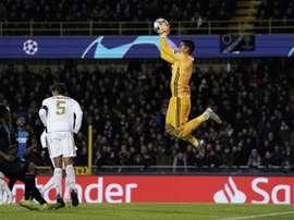 Zidane esquece de Areola. AFP