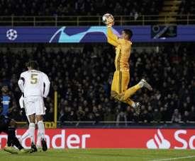 Areola reste au Real Madrid jusqu'à la fin de la saison. AFP