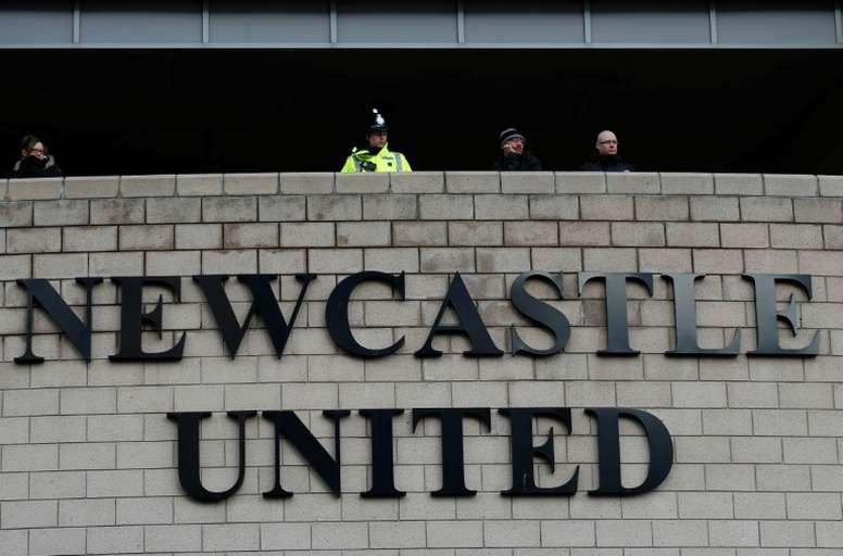 Les supporters de Newcastle réclament le remboursement des abonnements. AFP
