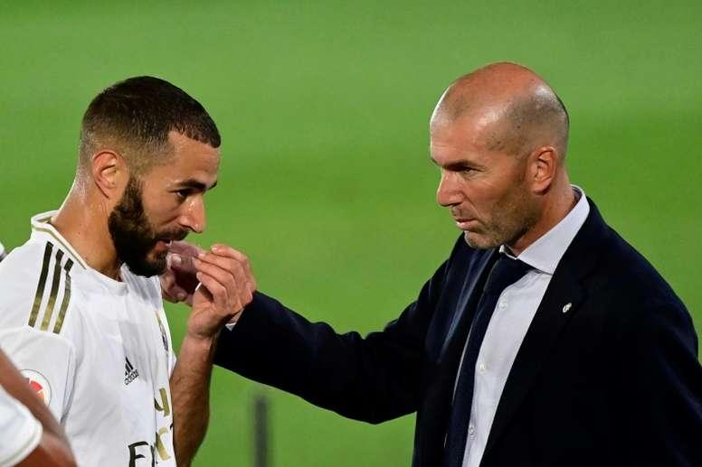 Pas de primes en cas de titre pour le Real Madrid. AFP