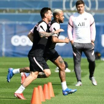 La prensa francesa criticó a Messi y a Pochettino. AFP