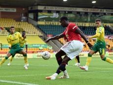 Manchester United et Pogba cravachent et vont en demie. AFP