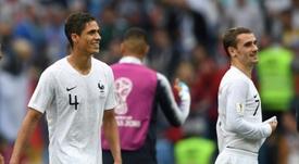 Griezmann a célébré sa qualification. AFP