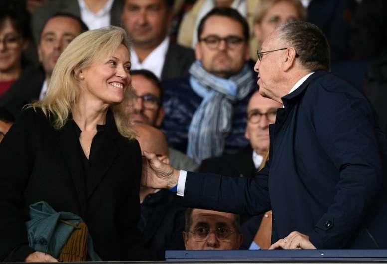 La Ligue 1 no se reanudará. AFP/Archivo
