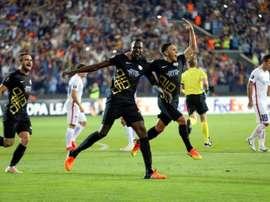 El Osmanlispor ha vencido por 3-2 al Akhisar Belediyespor. AFP/Archivo