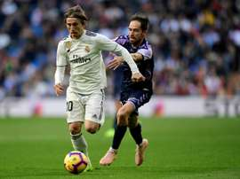 Modric tiene contrato con el Real Madrid hasta 2020. AFP