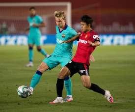 Takefusa Kubo é reforço desejado pelo Granada para a próxima temporada. AFP