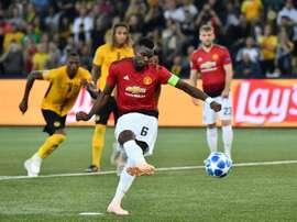 Pogba incroyable à United. AFP